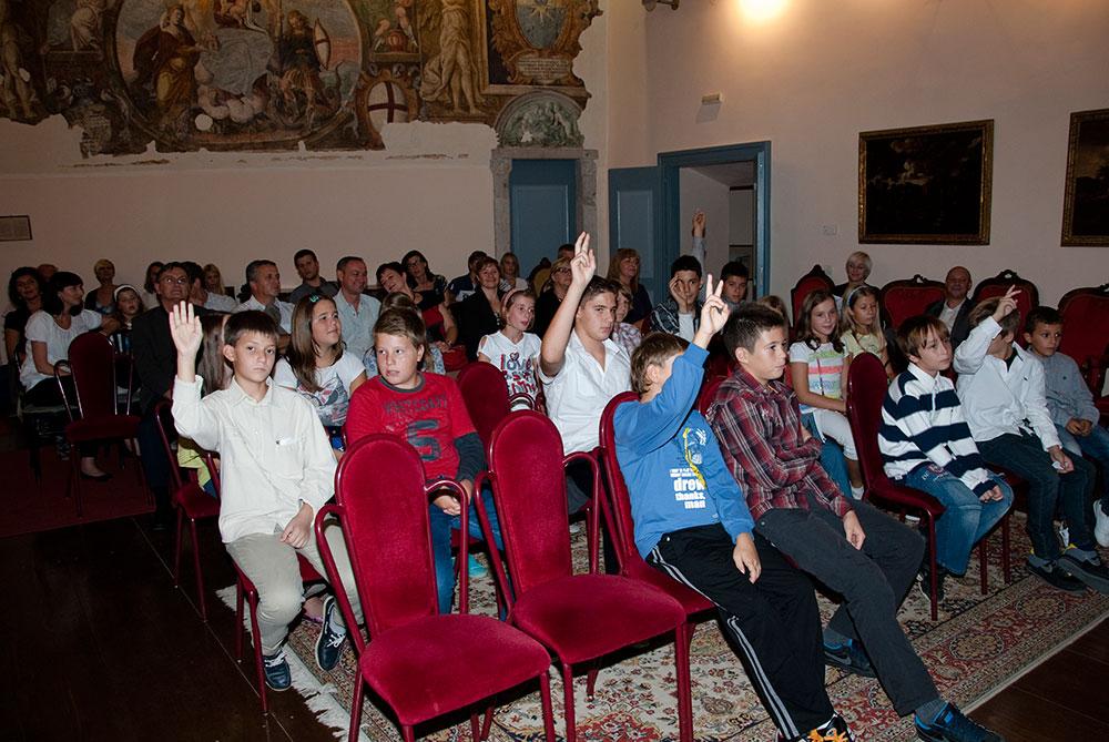 Verbale della 1/12 seduta costitutiva del Consiglio cittadino dei bambini della Città di Rovinj-Rovigno
