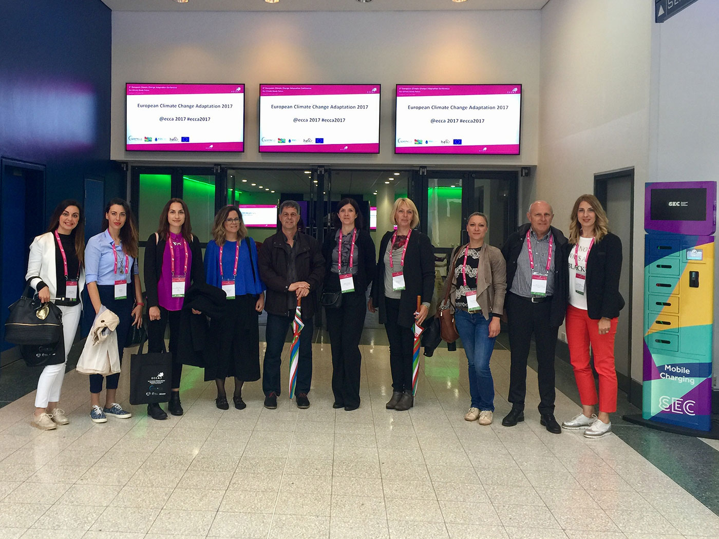 """Progetto """"Life SEC Adapt"""" – la Città di Rovinj-Rovigno ha partecipato alla 3a Conferenza europea sull'adattamento ai cambiamenti climatici – ECCA"""