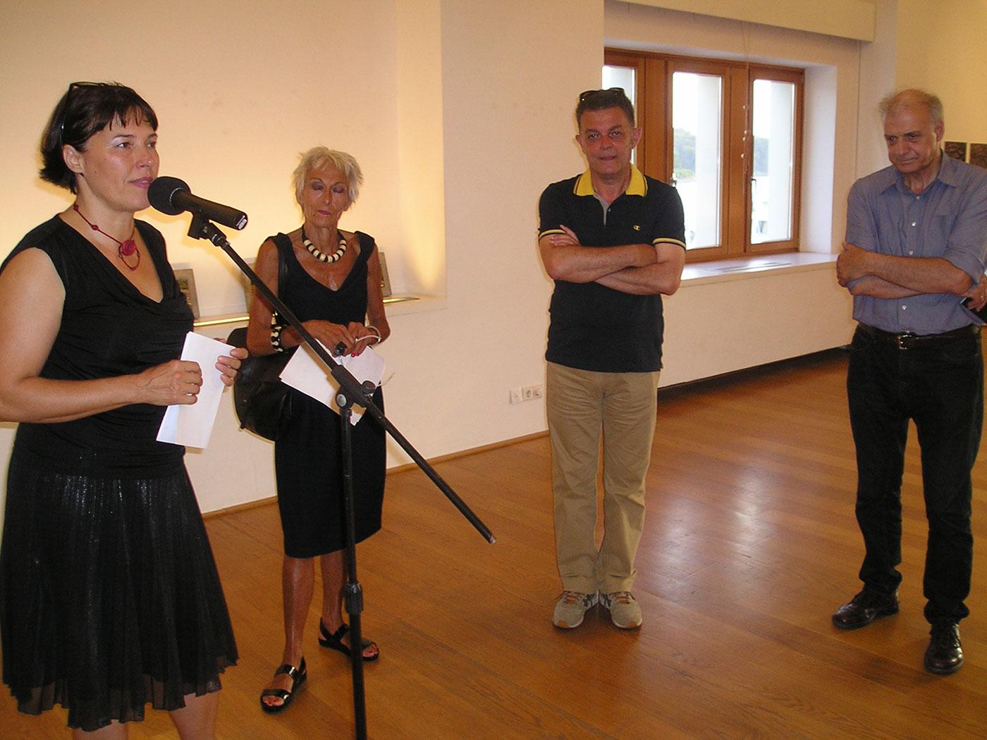Mostra dell'artista maceone Jovan Šumkovski al CMM