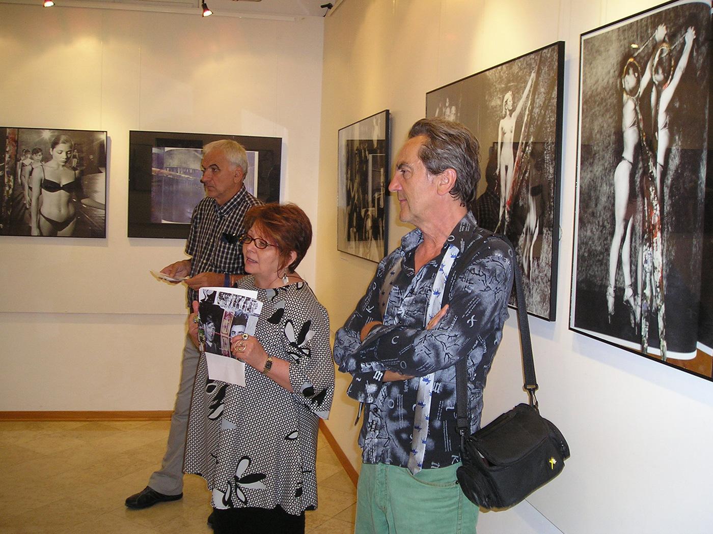 Mostra del fotografo Mio Vesović al CAV Batana