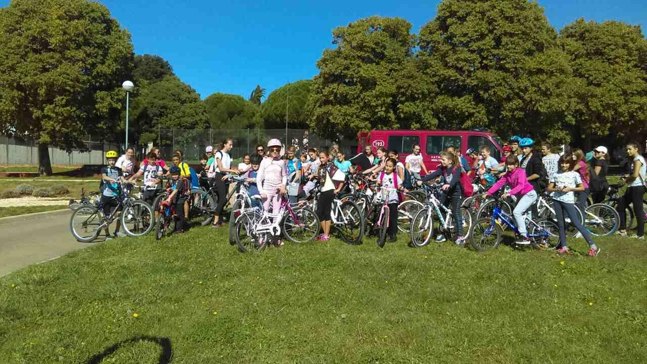 Secondo giro in bici del Consiglio Cittadino dei bambini