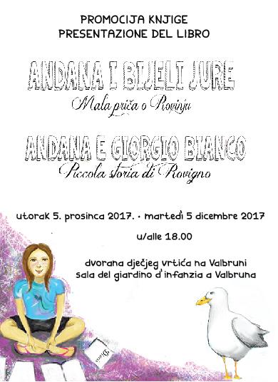 Presentazione del libro ANDANA E GIORGIO BIANCO – Piccola storia di Rovigno