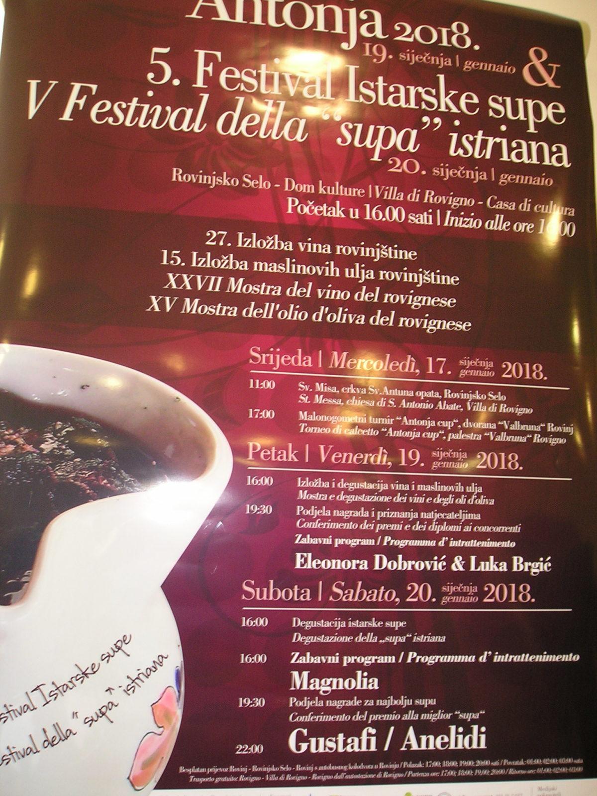 Ricco programma per la sagra di Sant'Antonio - glavna fotografija