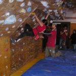 Inaugurata la nuova roccia per l'arrampicata libera 4