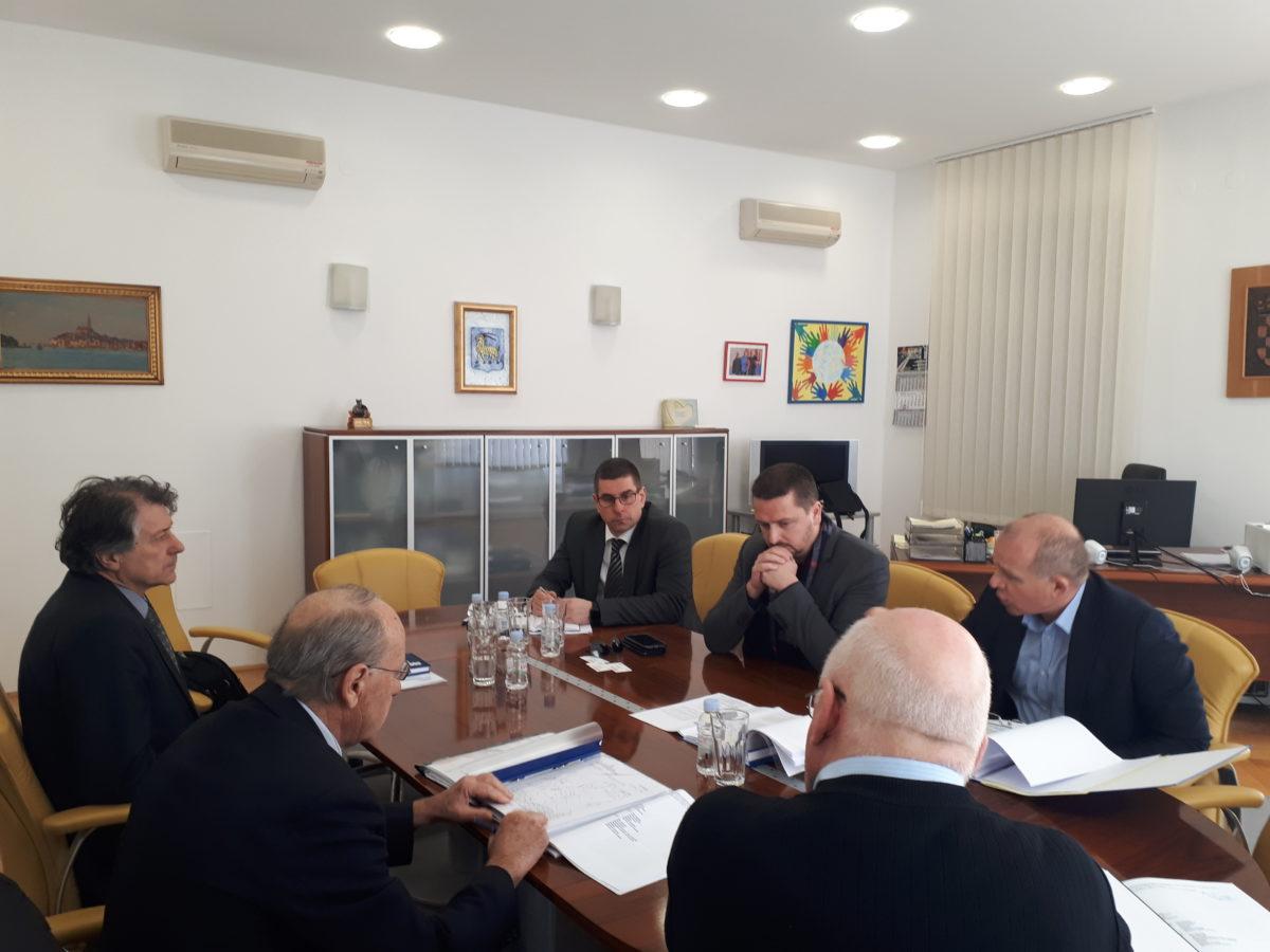 Si è tenuta la riunione con l'assistente del ministro alla cultura - glavna fotografija