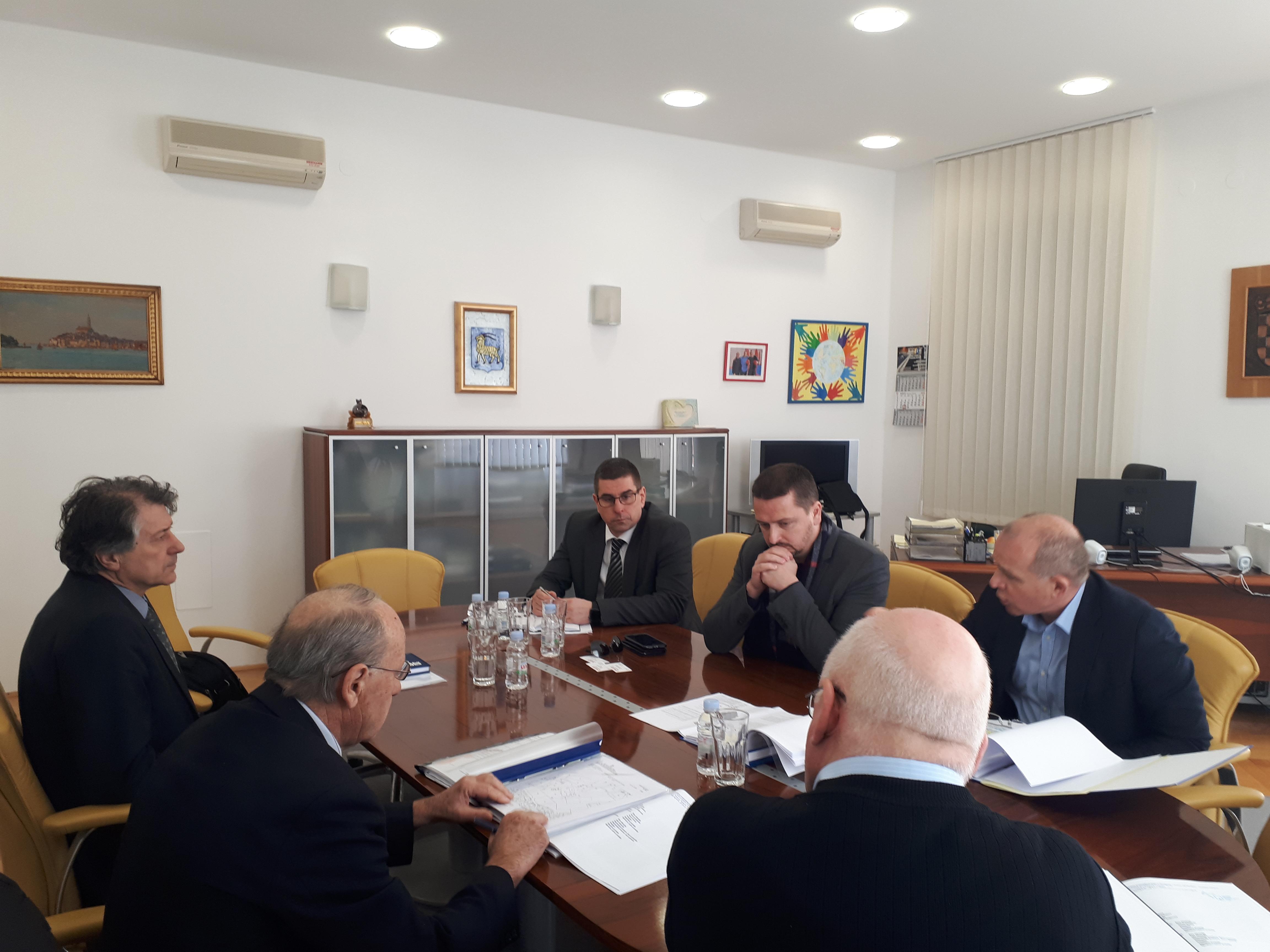 Si è tenuta la riunione con l'assistente del ministro alla cultura