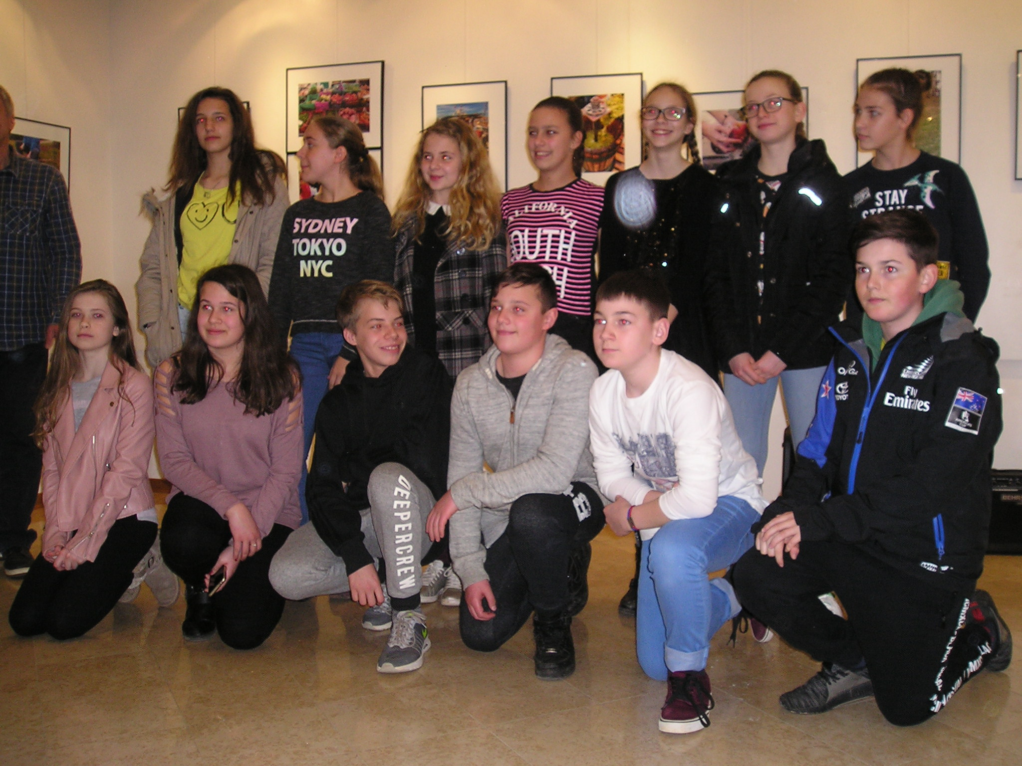 Mostra fotografica degli alunni della «Juraj Dobrila»