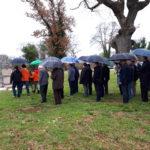 """Sono state posate le ghirlande in occasione dell'anniversario di fondazione del battaglione """"Pino Budicin"""" 5"""