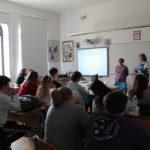 """L'iniziativa """"Ritorno a scuola """" (""""Back to School"""") presentata agli alunni della Scuola media superiore italiana a Rovigno 1"""