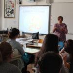 """L'iniziativa """"Ritorno a scuola """" (""""Back to School"""") presentata agli alunni della Scuola media superiore italiana a Rovigno 2"""