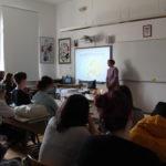"""L'iniziativa """"Ritorno a scuola """" (""""Back to School"""") presentata agli alunni della Scuola media superiore italiana a Rovigno 3"""