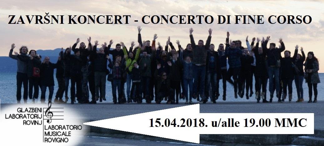 Concerto di fine corso del Laboratorio musicale Rovigno