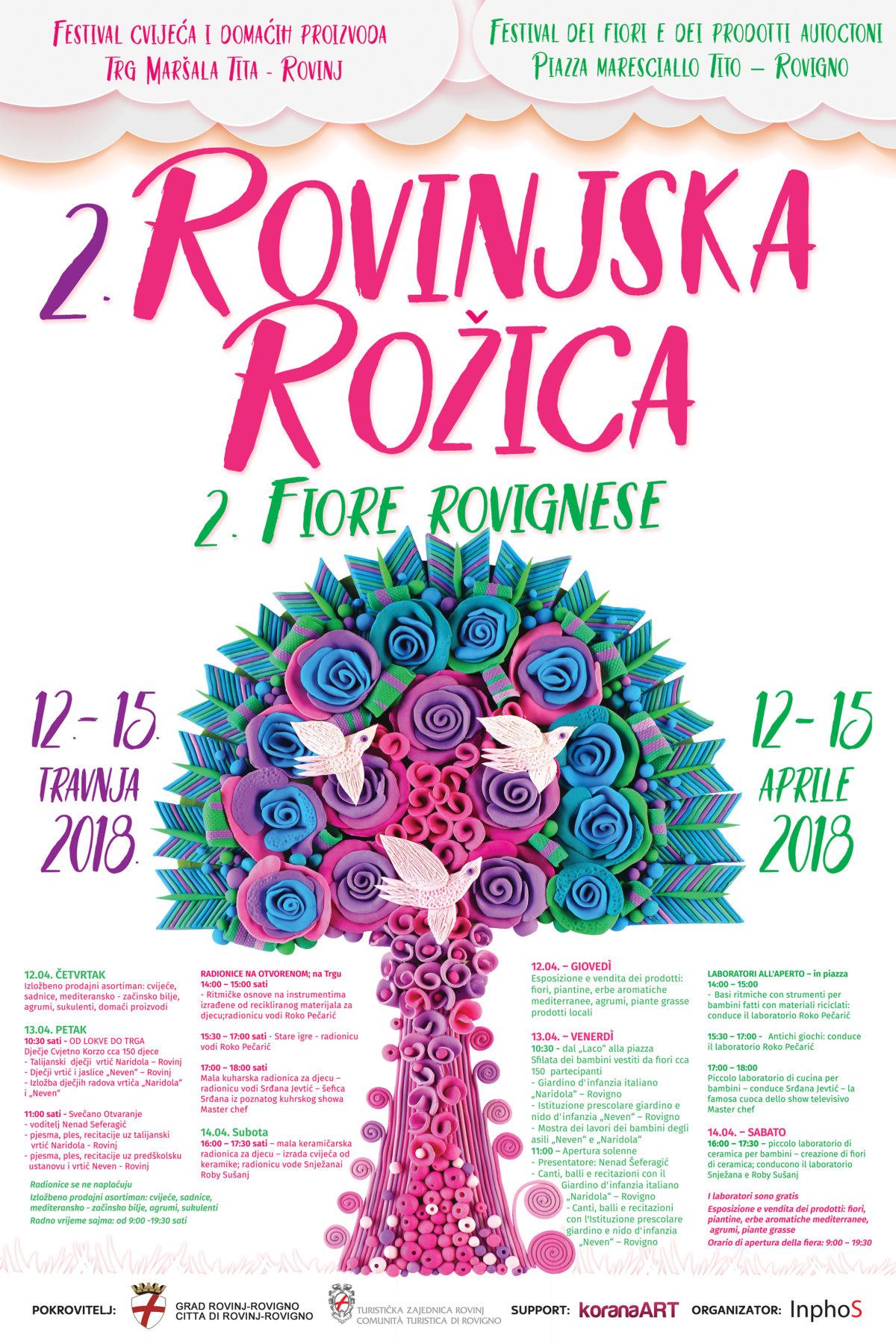 2. fiore rovignese – manifestazione floreale - glavna fotografija