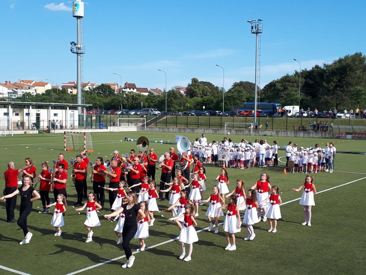 Festival olimpionico degli asili del rovignese - glavna fotografija