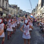 Le majorettes rovignesi in tournee in Francia 2