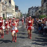 Le majorettes rovignesi in tournee in Francia 3