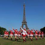 Le majorettes rovignesi in tournee in Francia 6