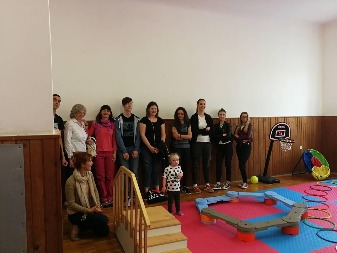 Visita della SMSI di Rovigno al Centro Down di Pola