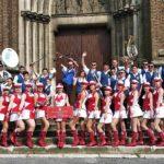 Le majorettes rovignesi in tournee in Francia 10