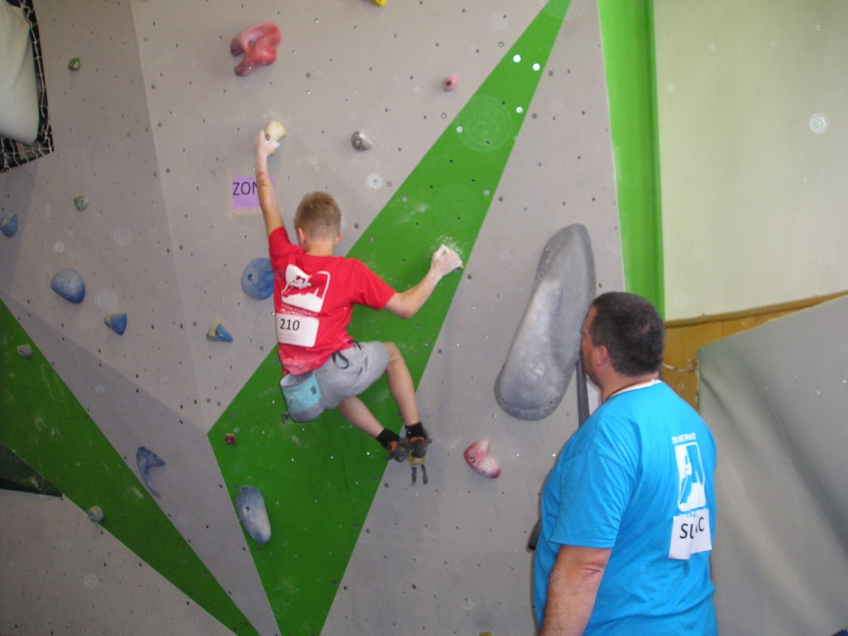 Competizione regionale di arrampicata sportiva - glavna fotografija