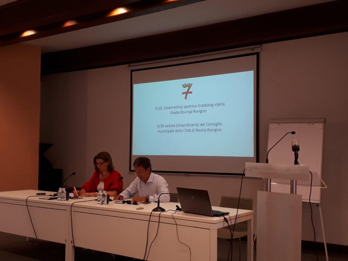 Si è tenuta la 5a seduta (straordinaria) del Consiglio municipale - glavna fotografija
