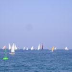 Regata di imbarcazioni con vela al terzo e latina 2