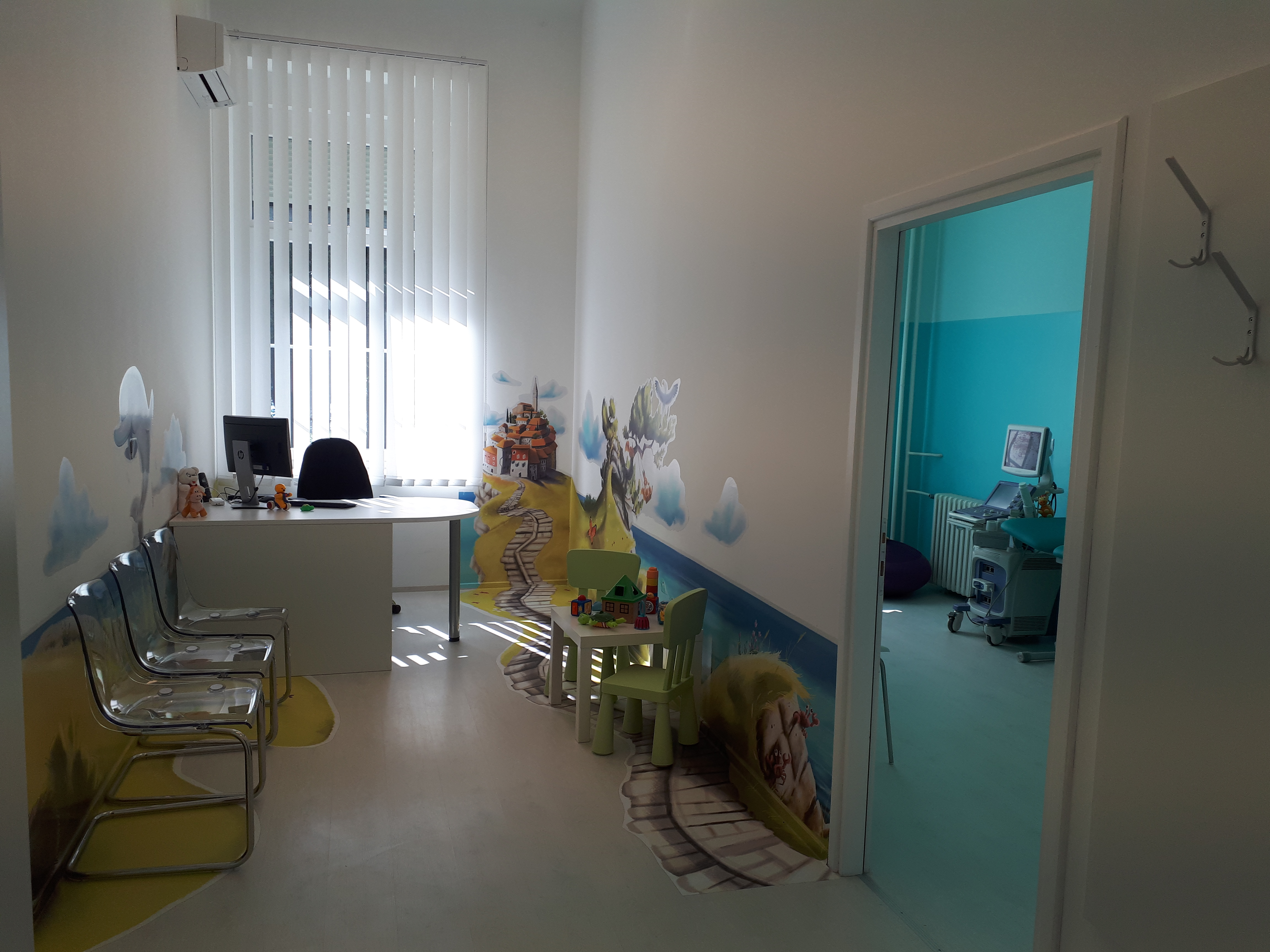 Inaugurata la clinica pediatrica all'Ospedale «Martin Horvat»