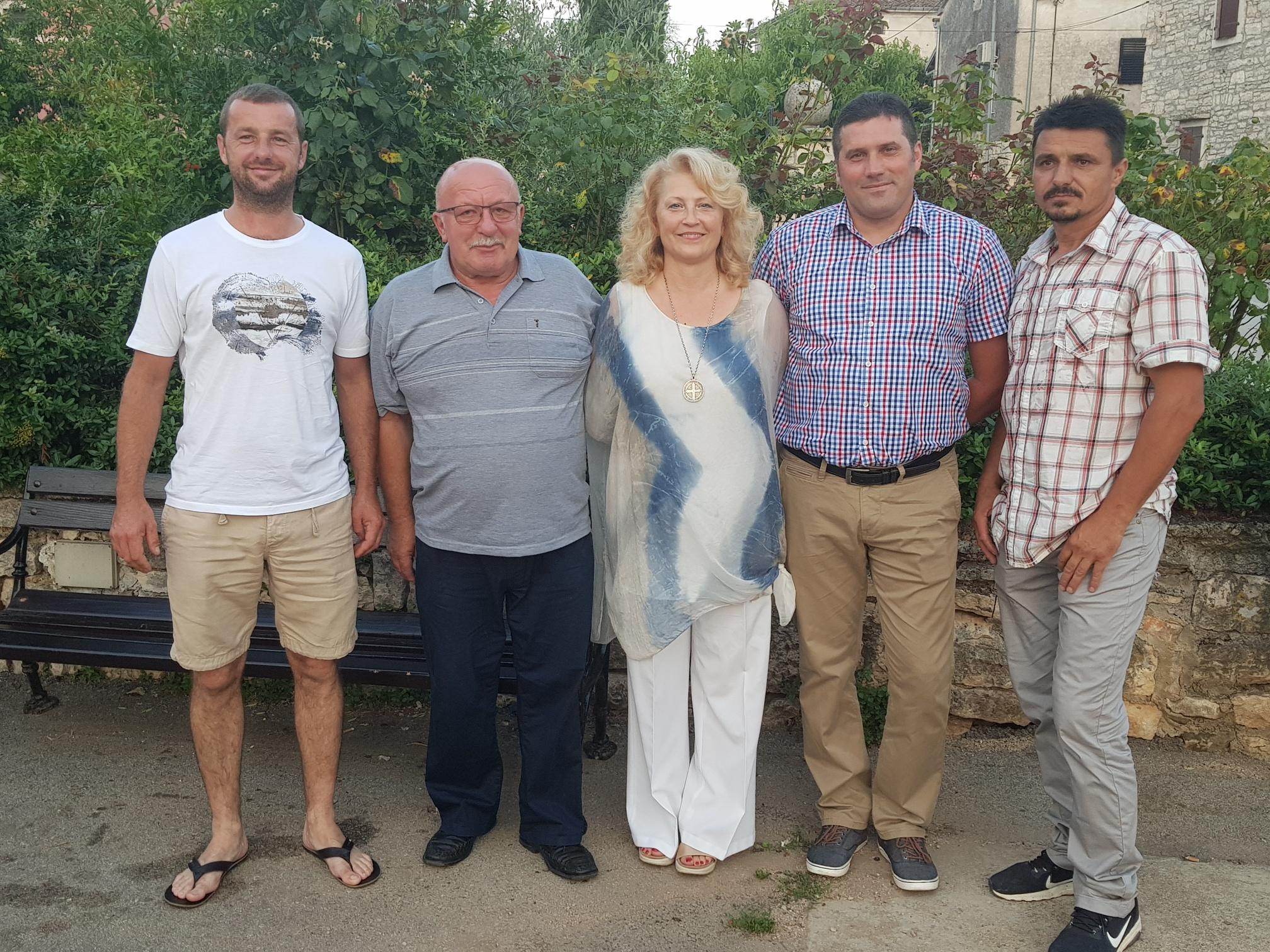 Seduta costitutiva del Consiglio del Comitato locale di villa di Rovigno