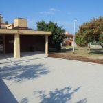 Sistemazione dello spazio attorno alla scuola Bernardo Benussi 1
