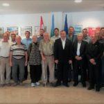 Celebrazione del 27º anniversario di formazione della 119º brigata dell'EC 1