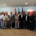 Celebrazione del 27º anniversario di formazione della 119º brigata dell'EC 4