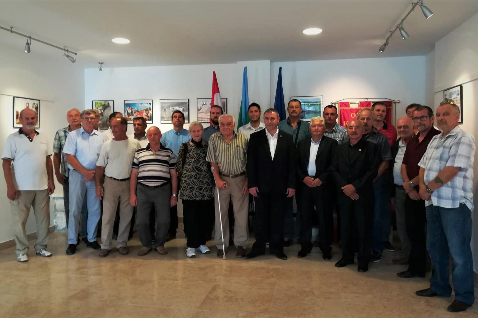 Celebrazione del 27º anniversario di formazione della 119º brigata dell'EC