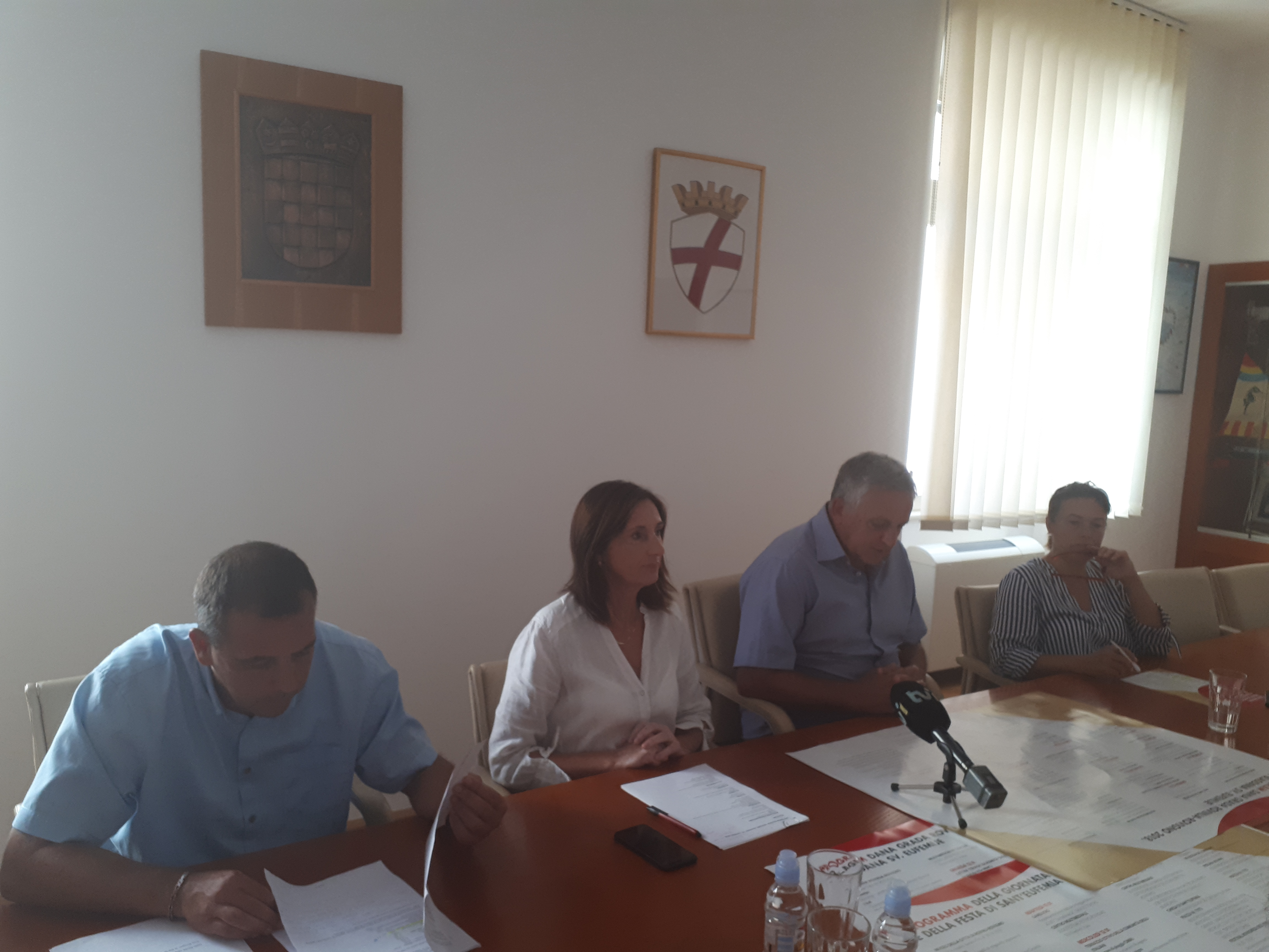 Konferencija za novinare povodom Dana Grada i blagdana Sv. Eufemije