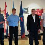 Celebrazione del 27º anniversario di formazione della 119º brigata dell'EC 3