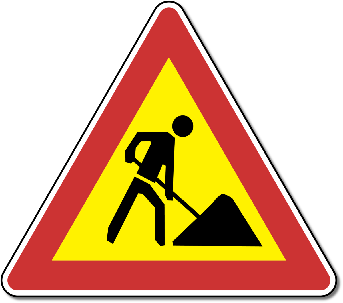 Avviso sull'esecuzione dei lavori in parte della strada statale D303 - glavna fotografija