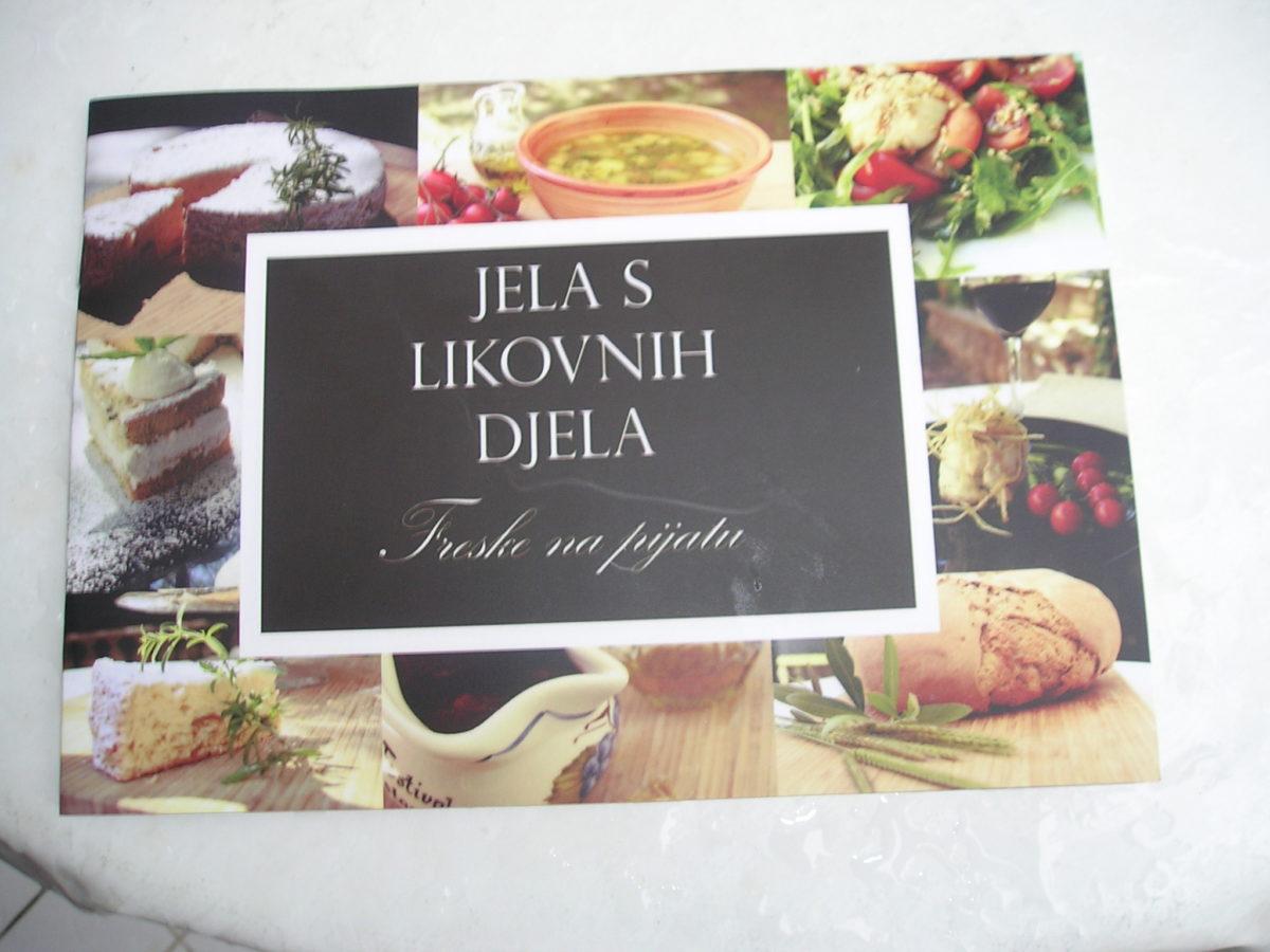 Presentato il progetto «Le pietanze delle opere d'arte – Gli affreschi serviti sui piatti » - glavna fotografija