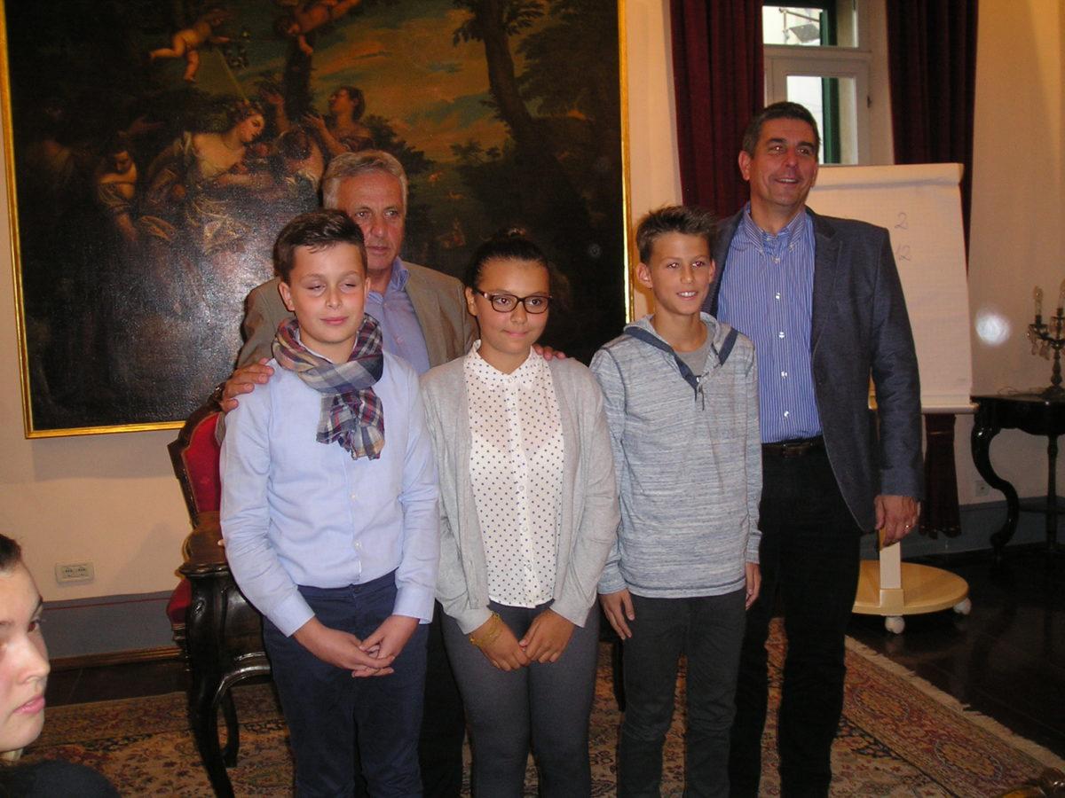 Eletti il nuovo sindaco e i vicesindaci del Consiglio dei bambini - glavna fotografija