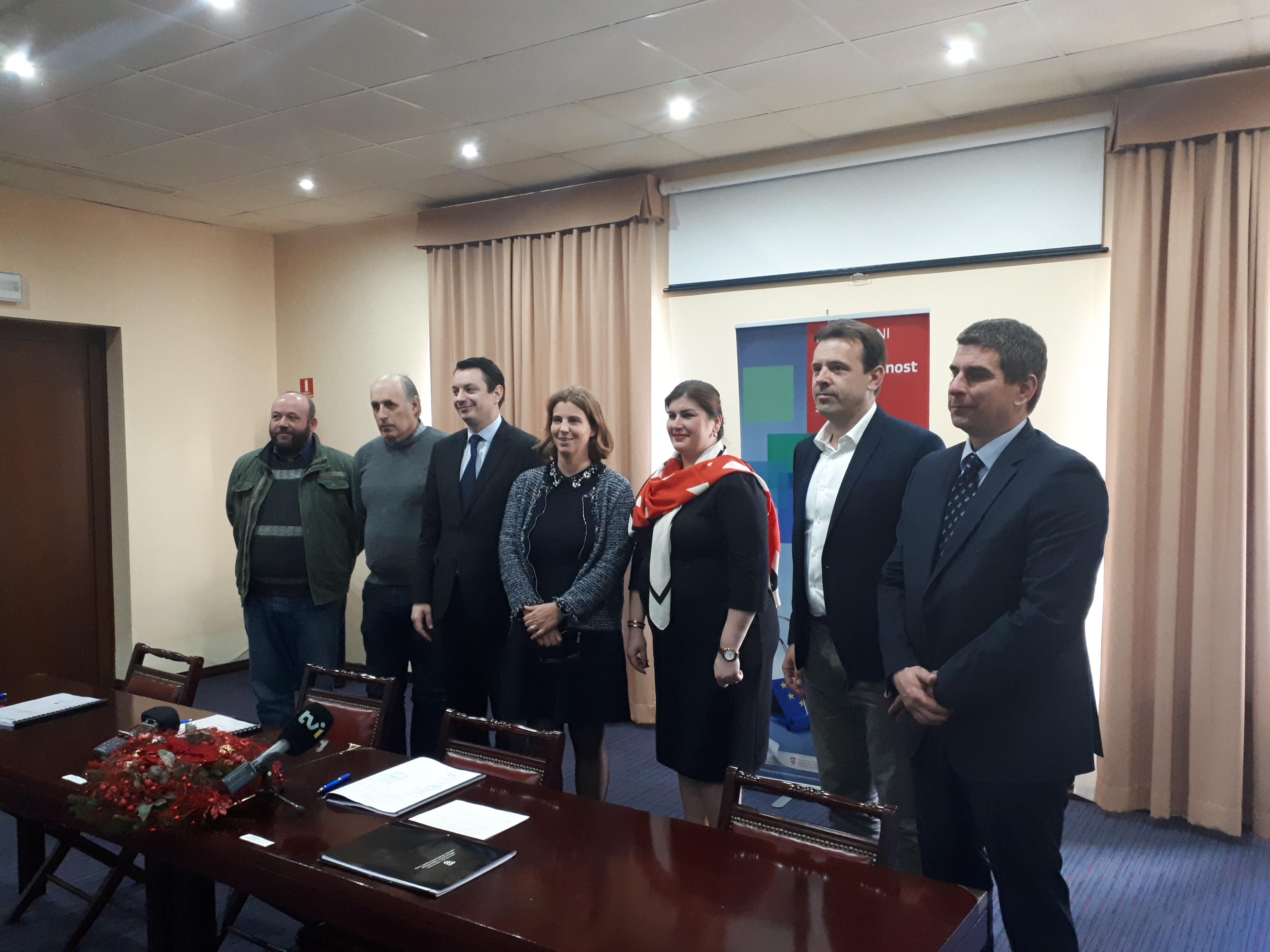 Svečano potpisan Ugovor o dodjeli bespovratnih sredstava za projektGeoIST3A-Valorizacija prirodne baštine u Istarskoj županiji unapređenjem konkurentnosti turističke ponude