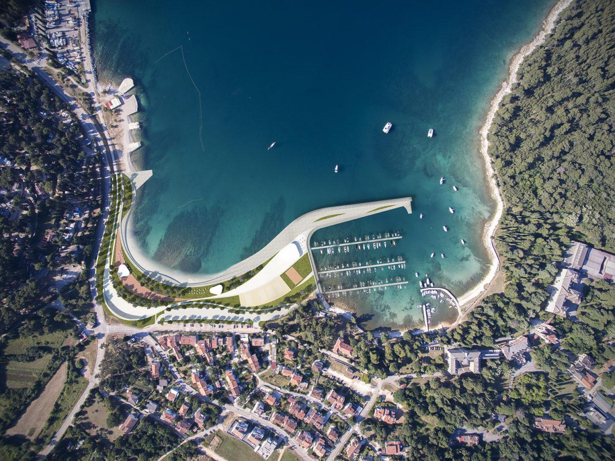 Projekt izgradnje Sjeverne luke Valdibora – komunalne lučice San Pelagio - glavna fotografija