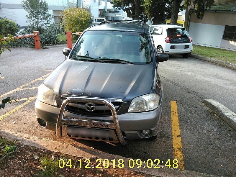 Kontinuirana kontrola nad nepropisno parkiranim vozilima