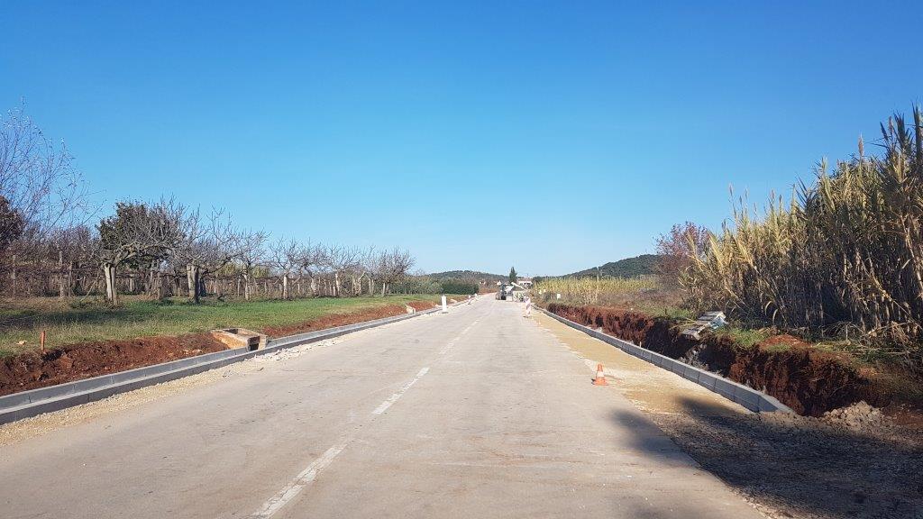 Obavijest o zatvorenoj dionici ceste od AC Saline do AC Valalta