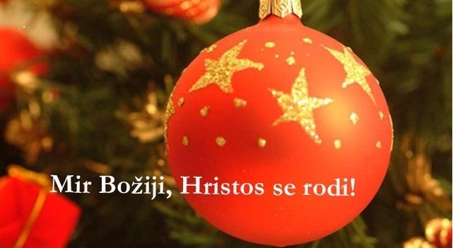 Auguri ai fedeli che festeggiano il Natale secondo il calendario giuliano