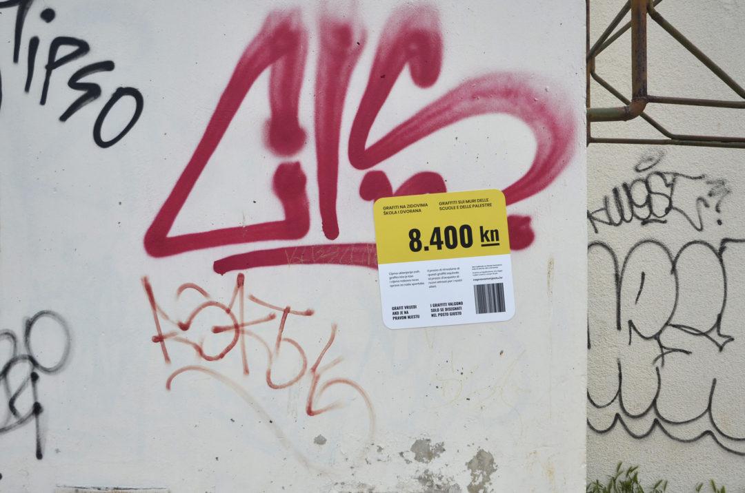 Problematica di distruzione delle aree pubbliche e del patrimonio altrui con i graffiti