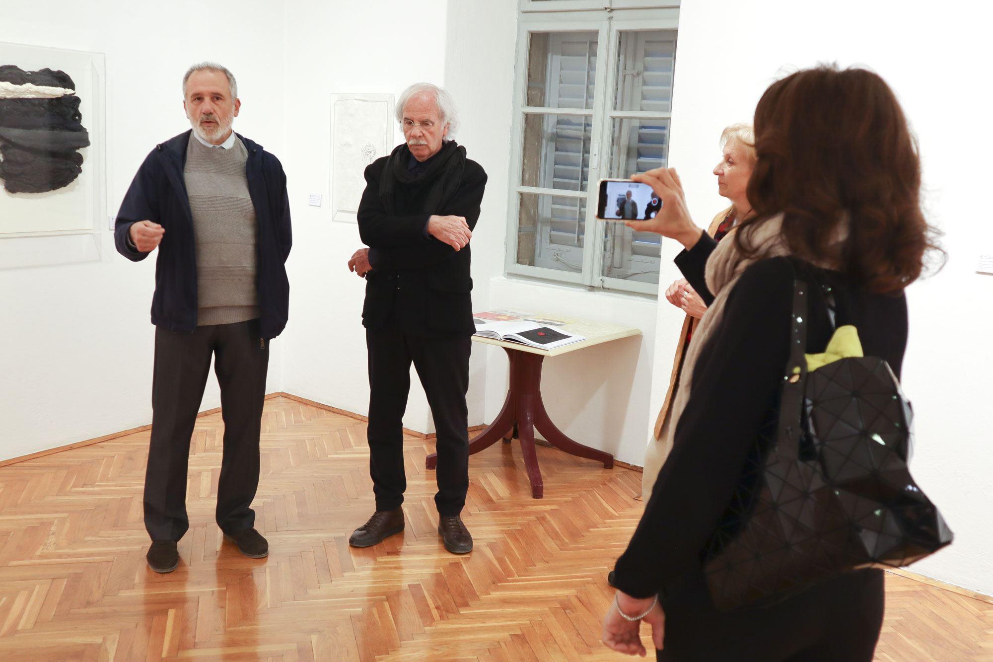 """""""Fermento cromatico"""" di Vinicio Momoli nel Museo della Città"""