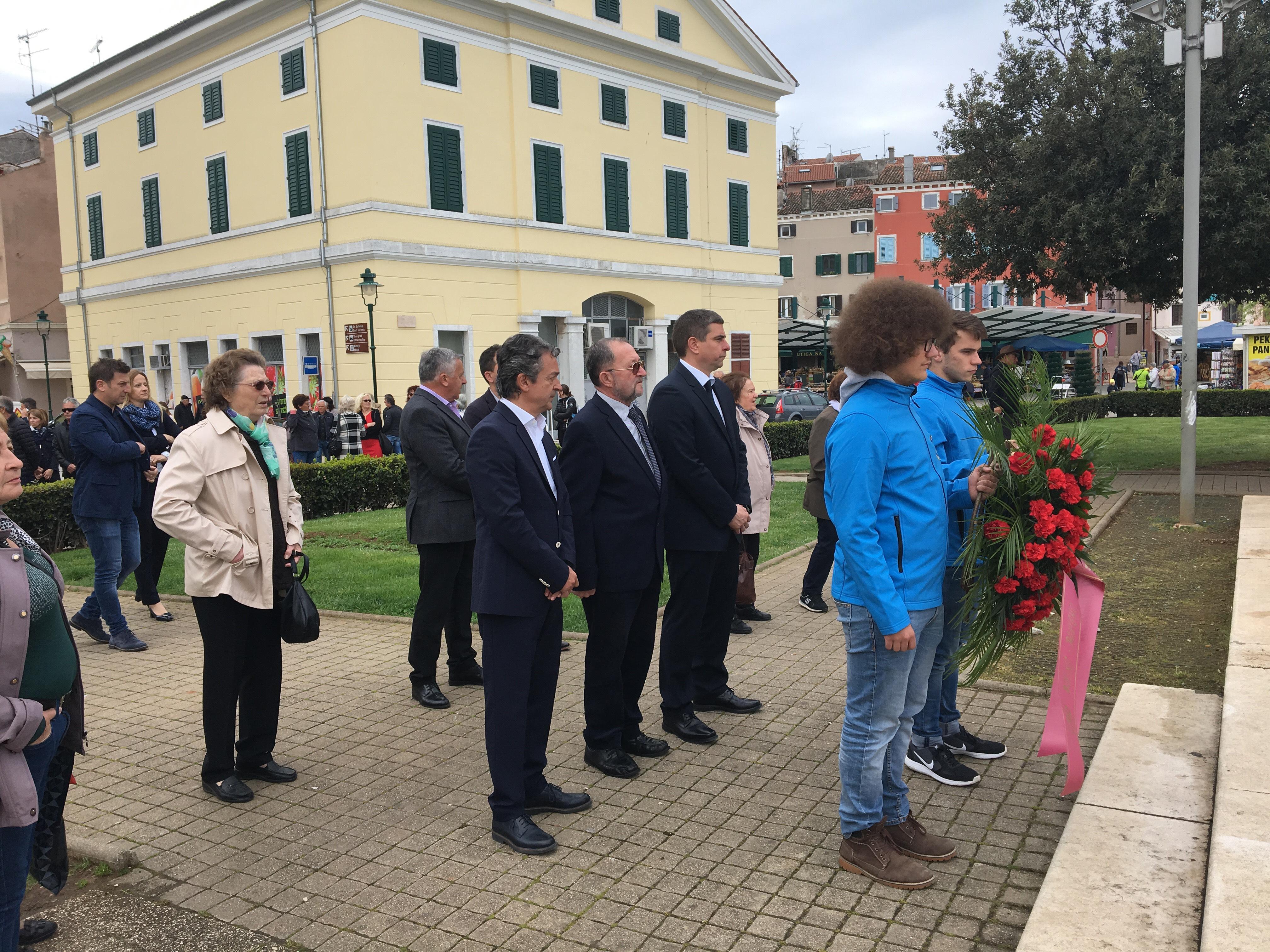 Rovigno ha celebrato la Giornata della liberazione