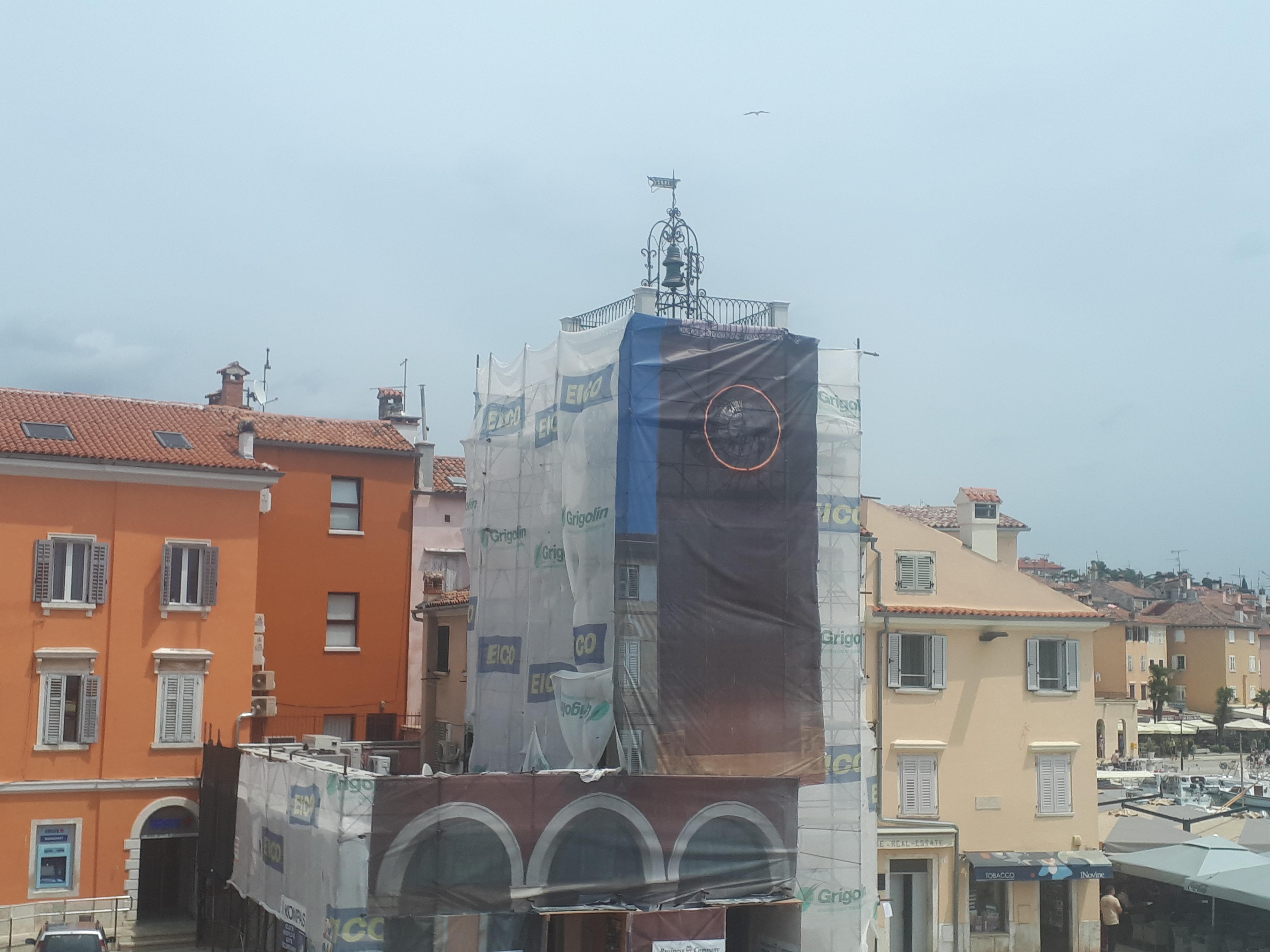 Radovi na tornju gradskog sata