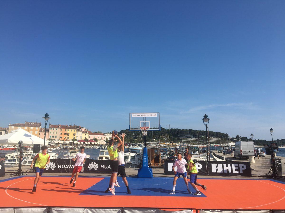 "3×3 ""Huawei basket tour"" a Rovigno - glavna fotografija"