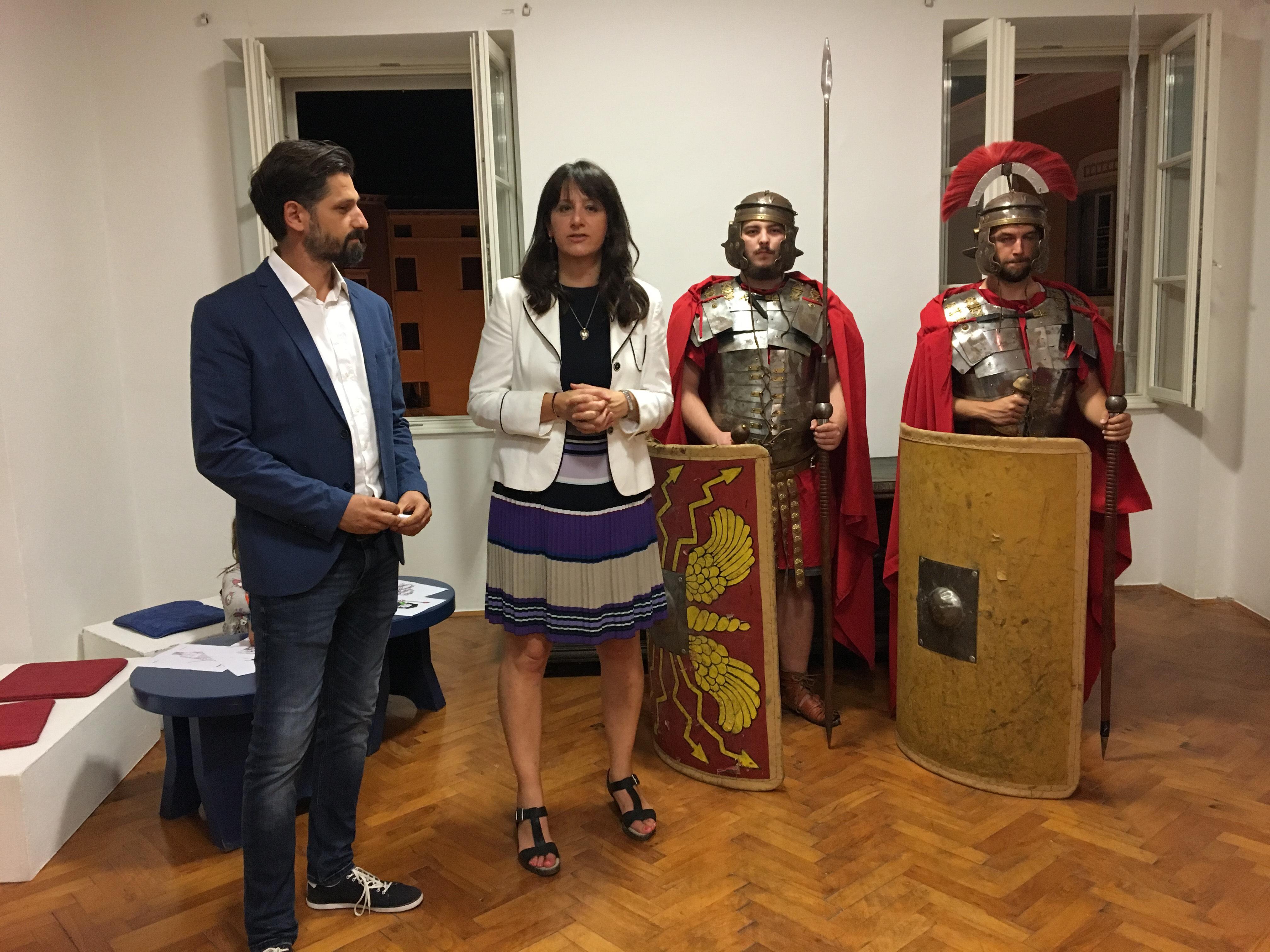 """""""Claustra – Difensori di pietra dell'Impero Romano"""" apre al Museo cittadino"""