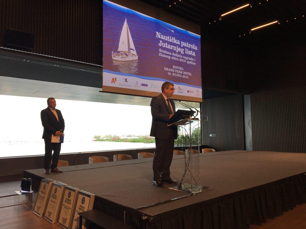 A Rovigno la cerimonia di premiazione dei migliori marina - glavna fotografija