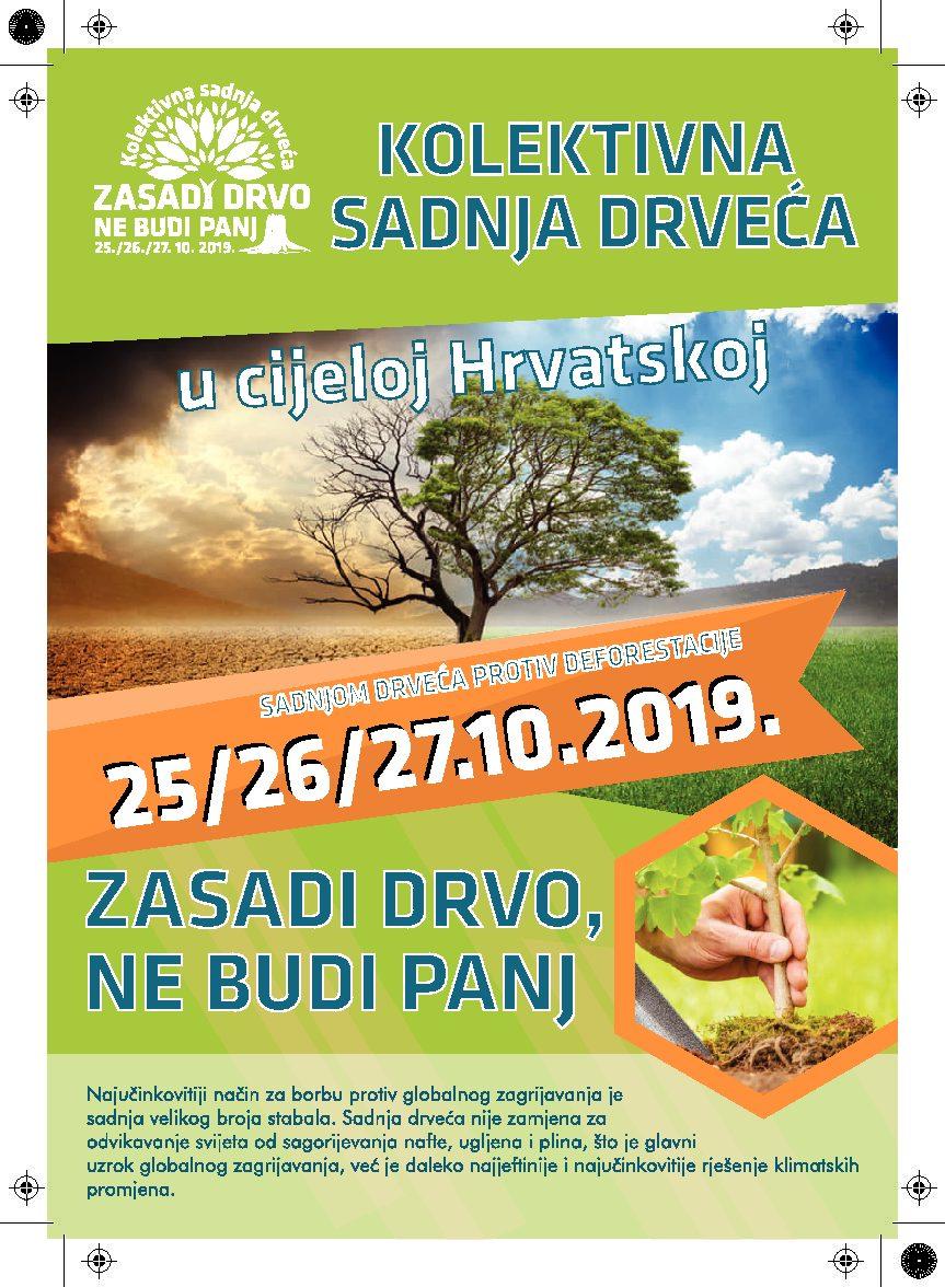 """Rovigno aderisce all'iniziativa cittadina """"Giornate della semina collettiva di alberi in Croazia"""""""